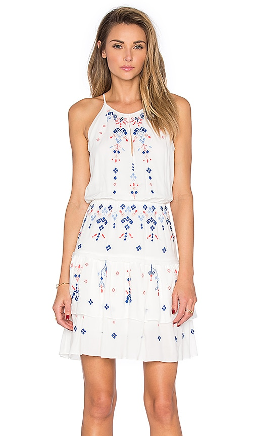 Parker Quintana Dress in White