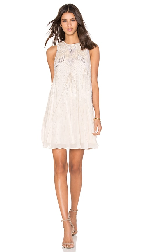 Parker Peony Embellished Dress in Moscato