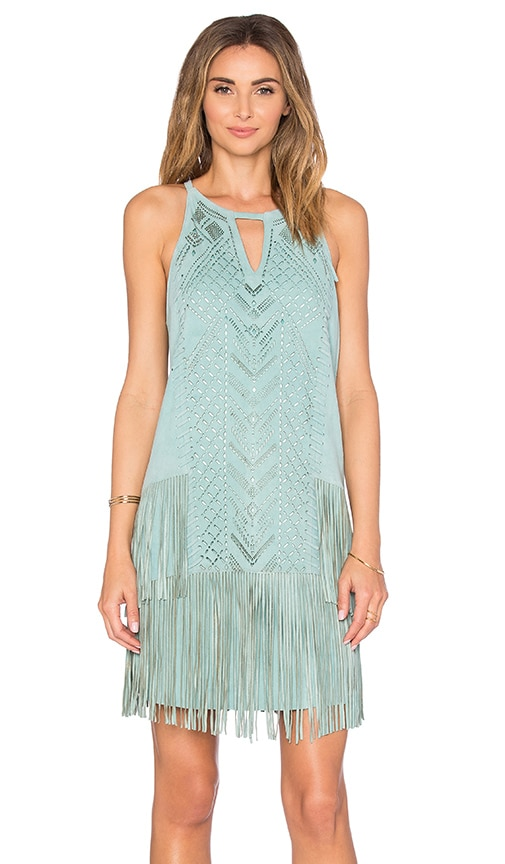 Parker Michael Dress in Mint
