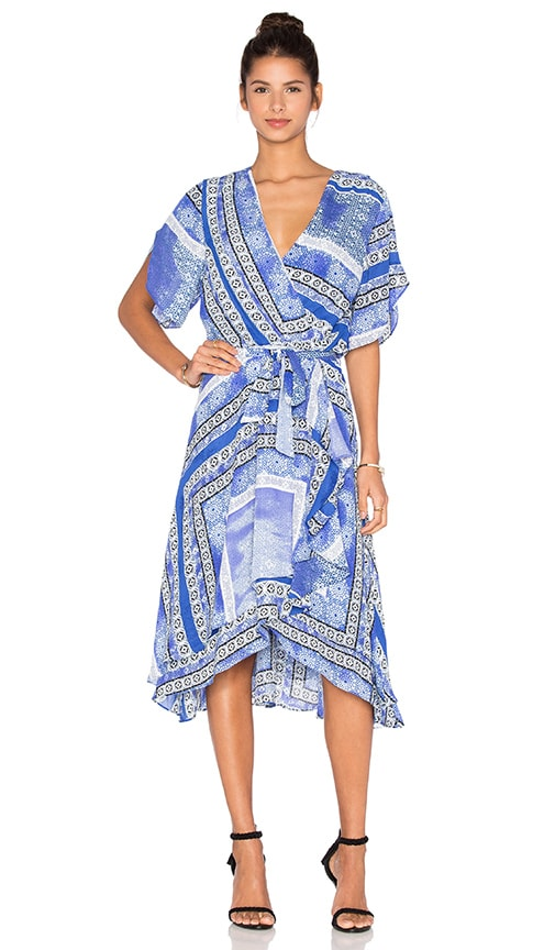 Parker Dominica Dress in Blue