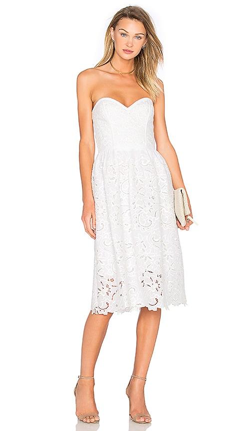 Parker Azalea Dress in White