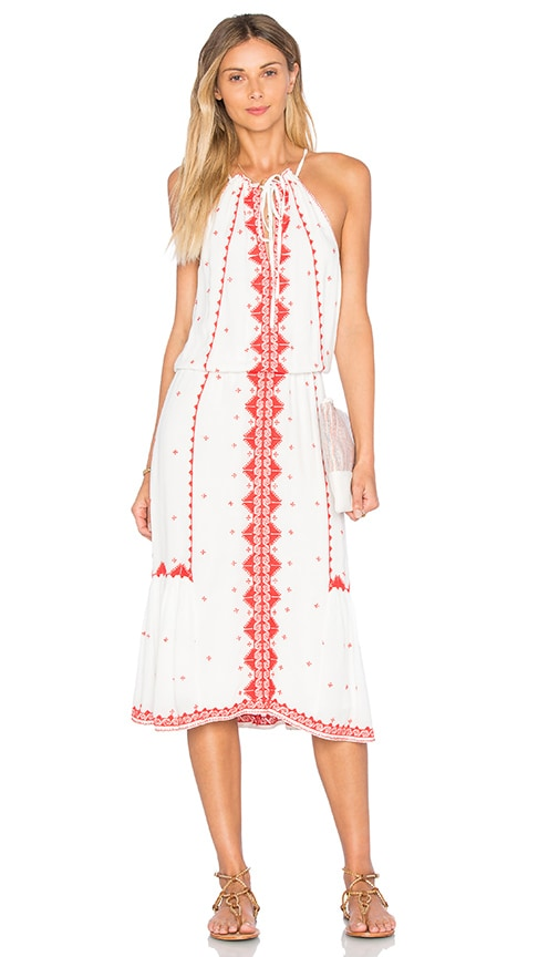 Parker Atlas Dress in White