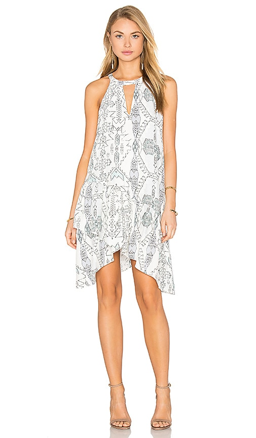 Parker Sienna Dress in White