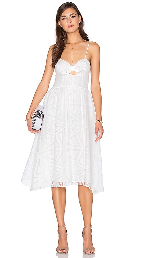 Parker Miranda Dress in White