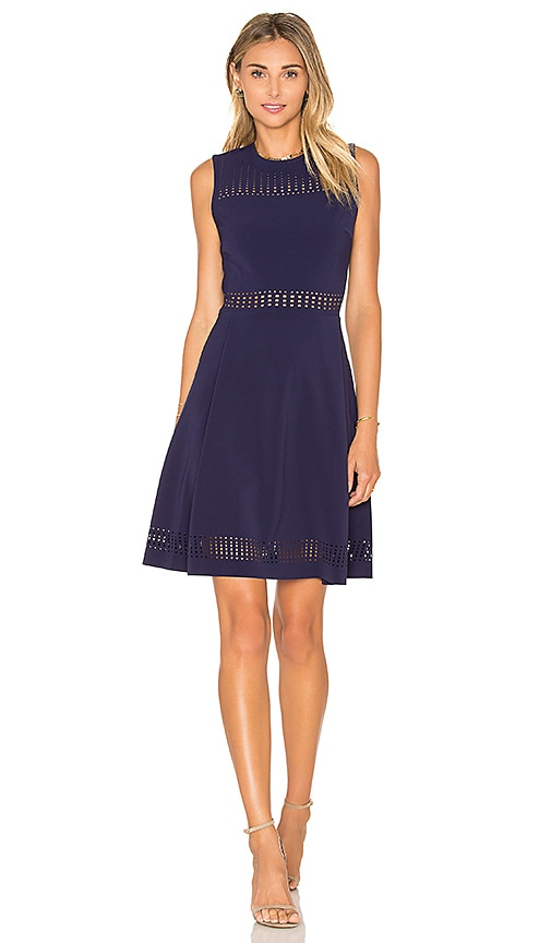 Parker Breslin Dress in Navy