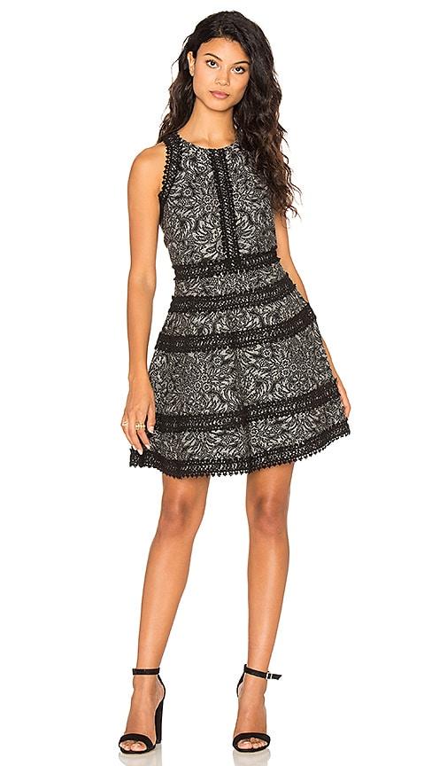 Parker Garnet Dress in Black