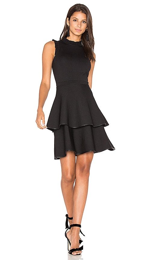 Parker Ryker Knit Dress in Black
