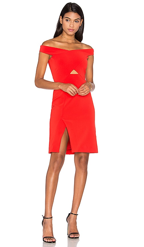 Parker Rory Dress in Red