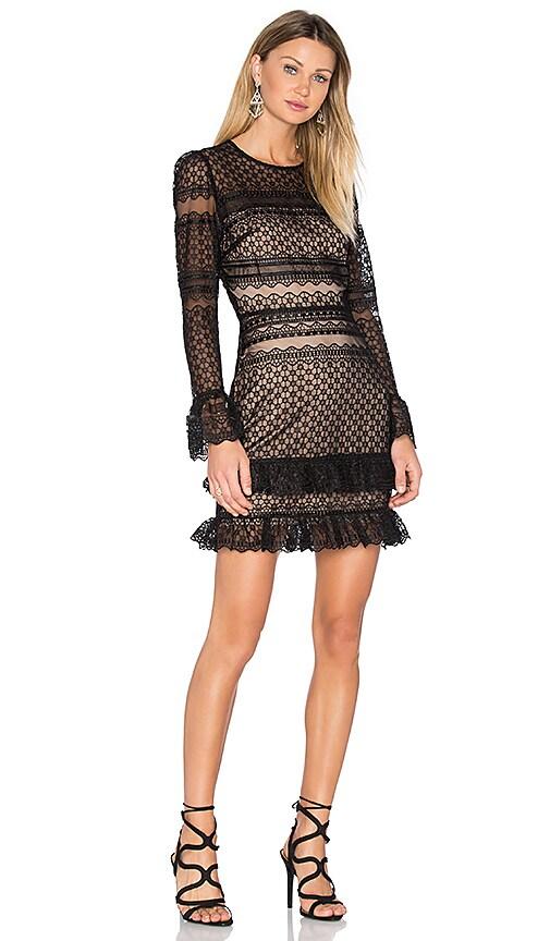 Parker Nadia Dress in Black