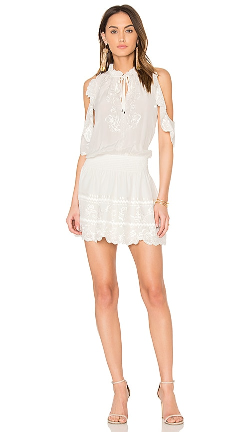 Parker Rayna Dress in White