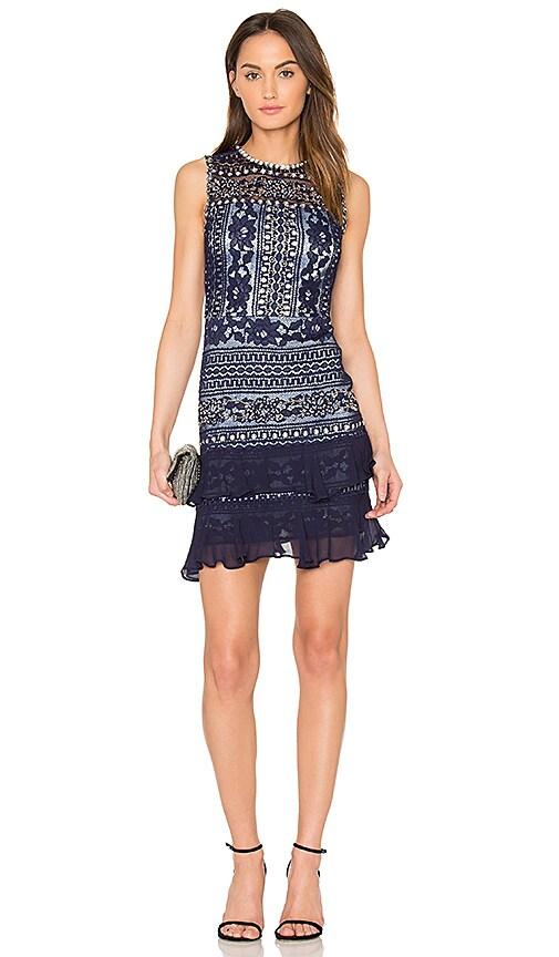 Parker Oriana Dress in Blue