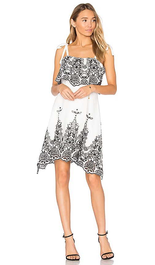 Parker Nia Dress in White
