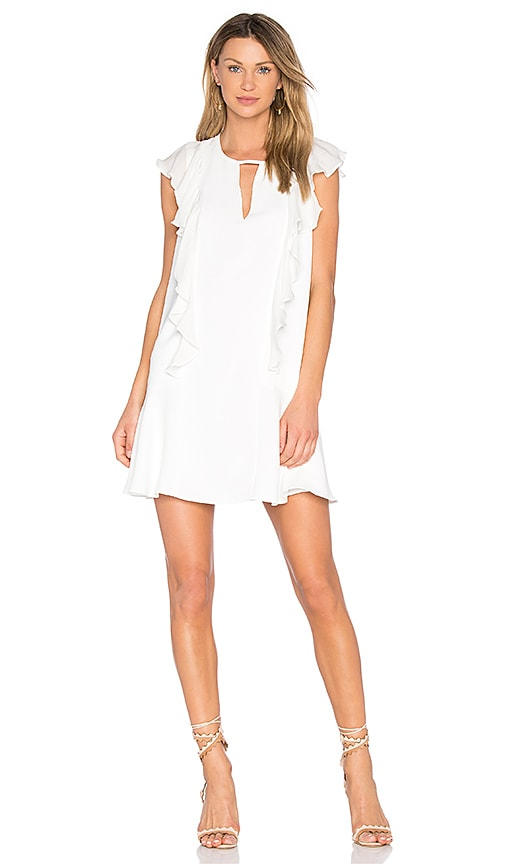 Parker Toni Dress in White