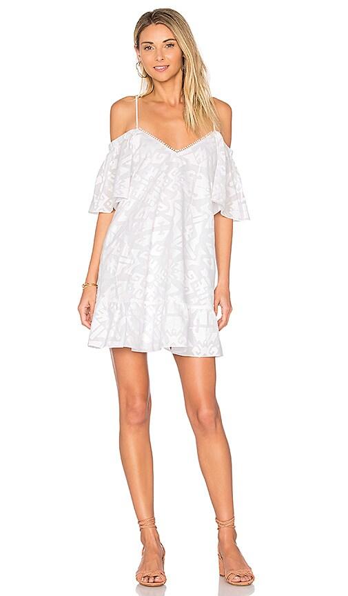 Parker Gretchen Dress in White