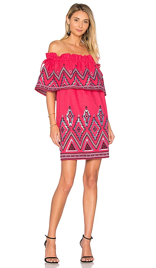 Parker Susie Dress in Pink