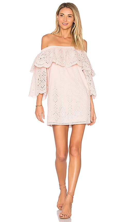 Parker Cathy Dress in Blush
