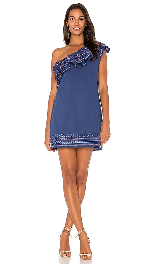Parker Katrina Dress in Blue