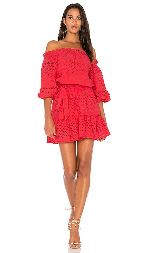 Parker Haven Dress in Red