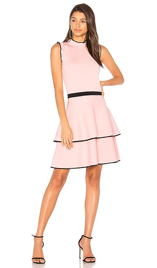Parker Ryker Mini Dress in Pink