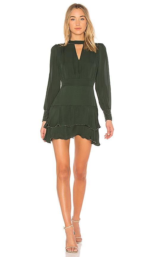 Parker Chrissy Mini Dress in Green