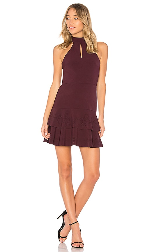 Parker Luana Keyhole Dress in Purple