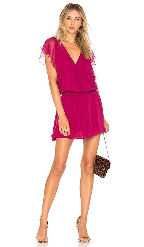 Parker Gabriella Dress in Fuchsia