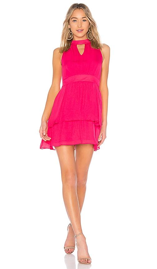 Parker Cassie Dress in Fuchsia