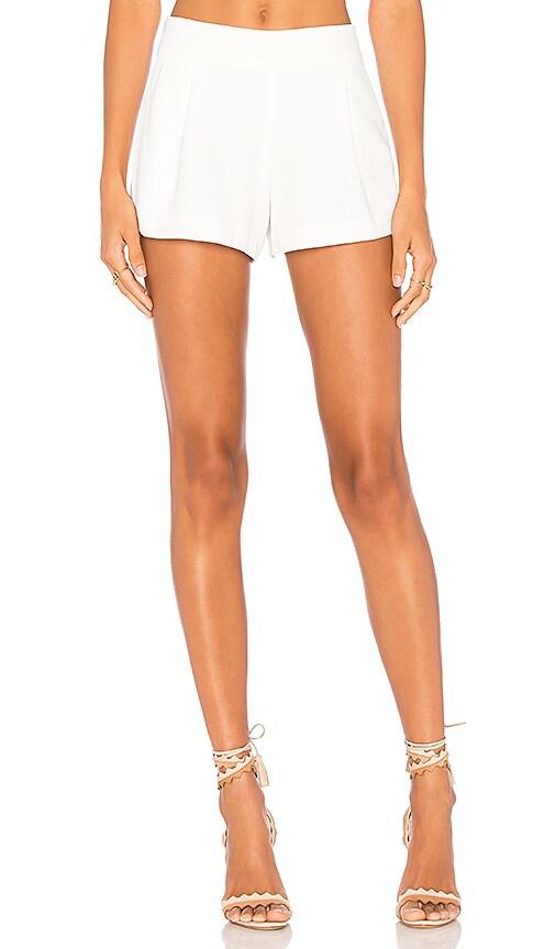 Parker Simpson Short in White