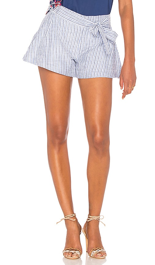 Parker Bow Short in Blue