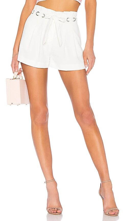 Parker Vale Short in White