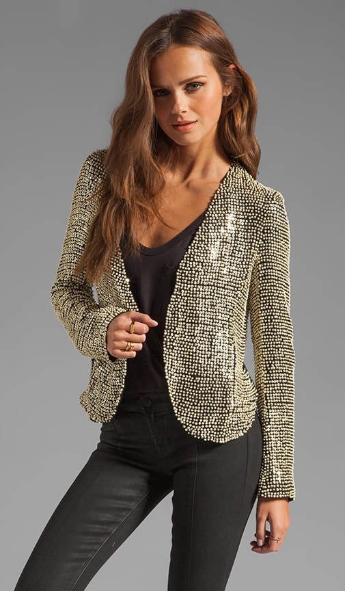 Ivory Seed Sequin Jacket