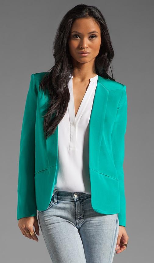 Crepe Blazer Jacket