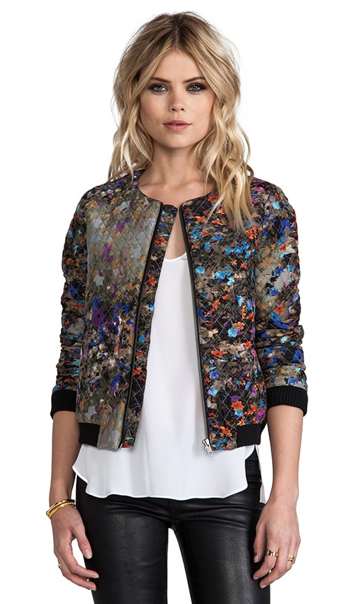 Maverick Dark Floral Jacket
