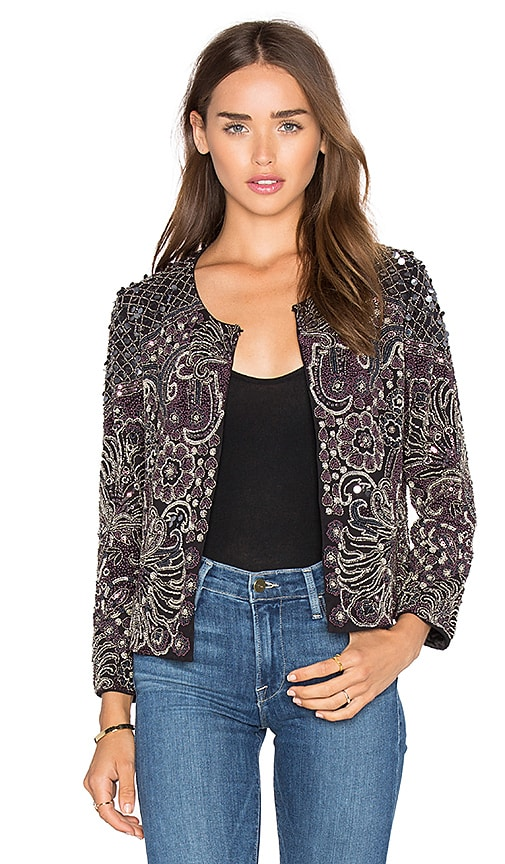 Parker Valentina Jacket in Black