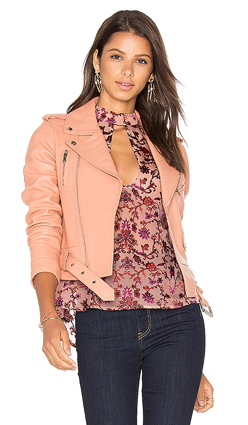 Parker Cooper Jacket in Peach