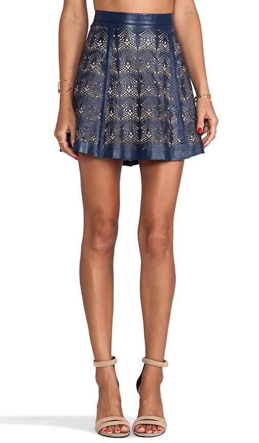 Filomena Leather Skirt