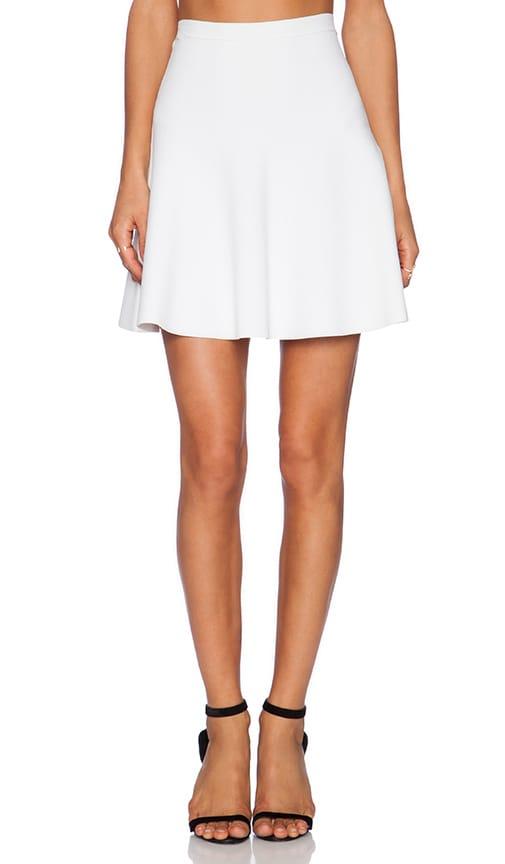 Parker Seda Knit Skirt in Ivory