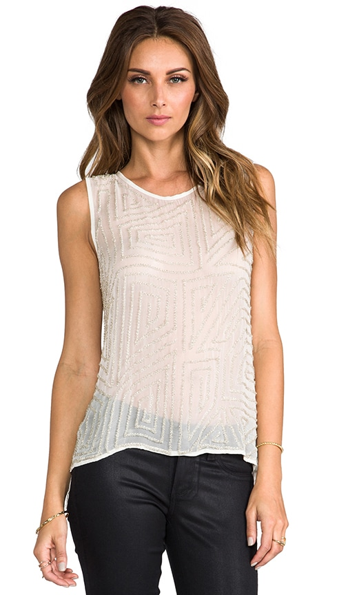 Embellished Caroline Top
