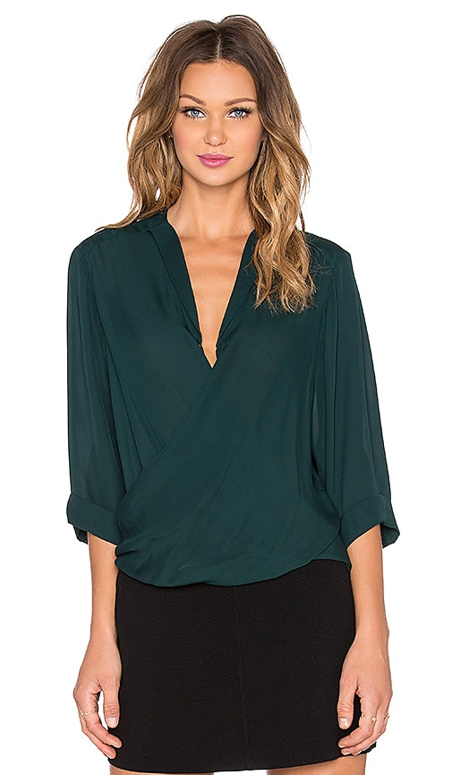Parker Harbor Top in Green