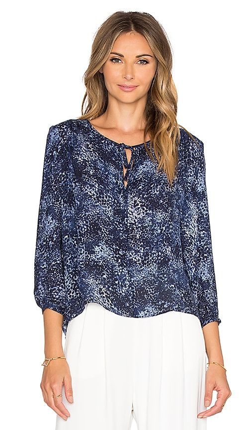 Parker Safara Blouse in Rosette