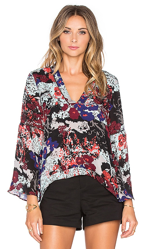 Parker Bliss Blouse in Congo