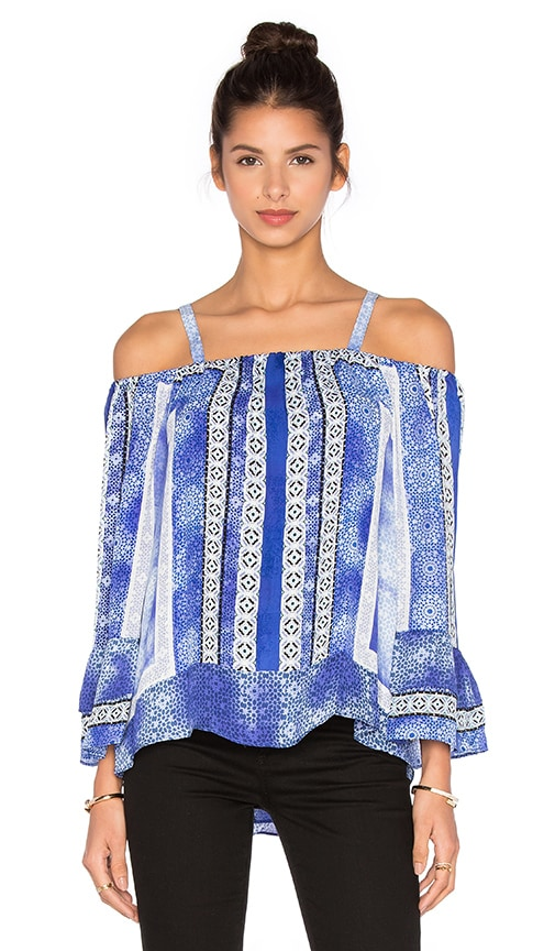 Parker Dipsy Blouse in Olympos