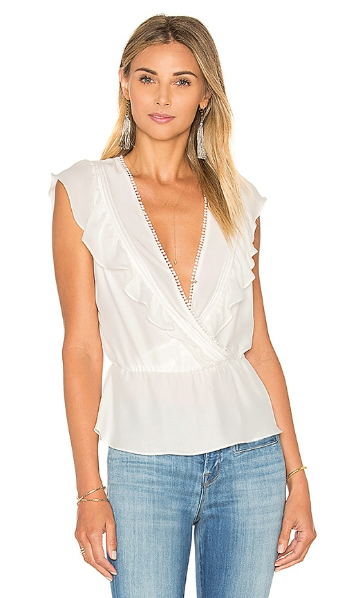 Parker Taylan Top in Ivory