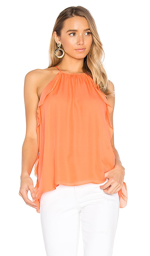 Parker Alia Top in Orange