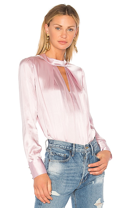 Parker Eleanor Blouse in Pink