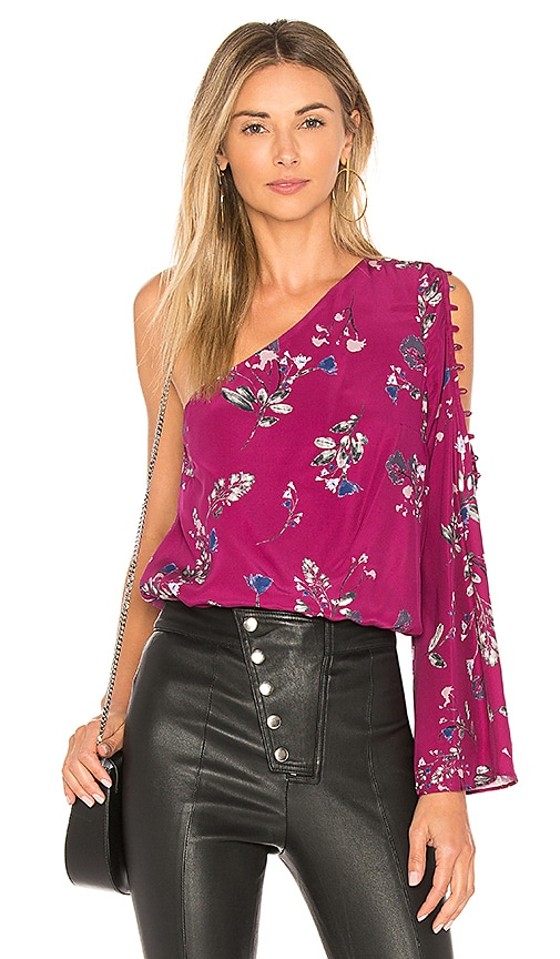 Parker Ripley Blouse in Pink