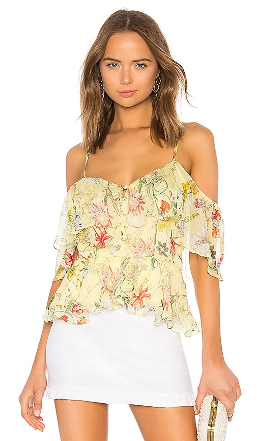 Parker Remedy Top in Yellow