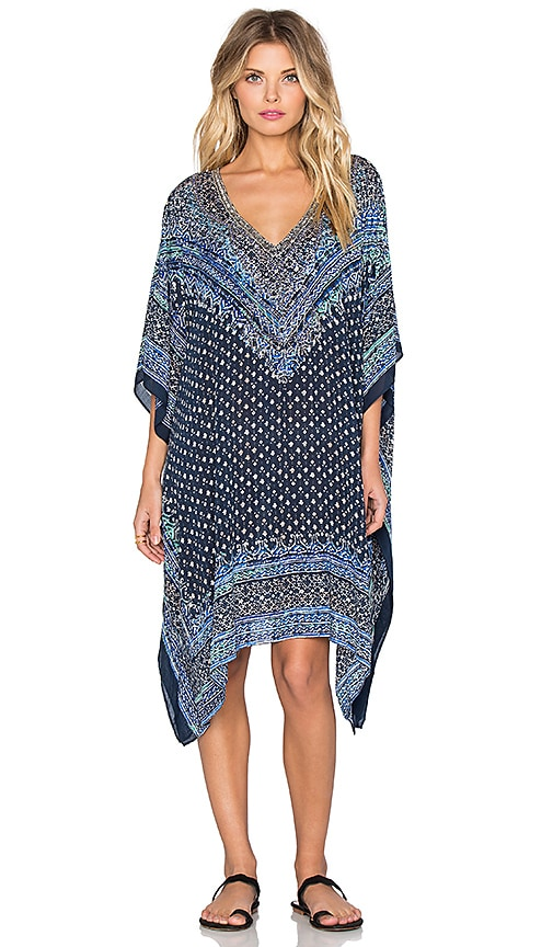 Parker Beach Playa Embellished Cover Up in Malibu
