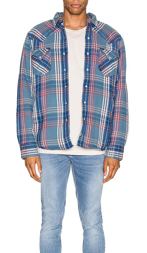 Cotton Twill Long Sleeve Shirt