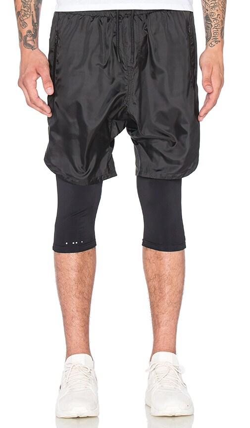 Publish Mono Crete Shorts in Black